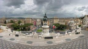Panorama de Roma fotografía de archivo