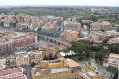 Panorama de Roma Foto de Stock Royalty Free