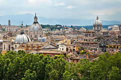 Panorama 2 de Roma Foto de archivo libre de regalías