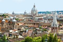Panorama 3 de Roma Foto de archivo libre de regalías