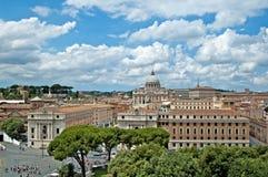 Panorama 4 de Roma Imagenes de archivo