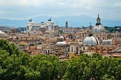 Panorama 5 de Roma Fotografía de archivo libre de regalías