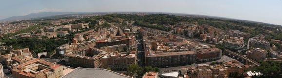 Panorama de Roma Fotos de archivo