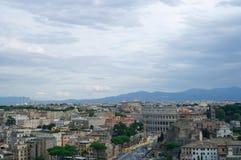 Panorama de Roma Imagens de Stock