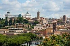 Panorama 1 de Rome Photos stock