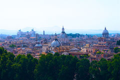 Panorama de Rome photographie stock