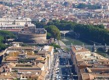 Panorama de Rome, Italie photographie stock libre de droits
