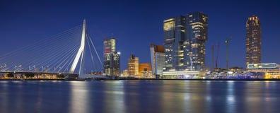 Panorama de Rotterdam Photographie stock libre de droits