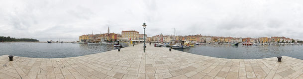 Panorama de Rovinj Foto de Stock Royalty Free