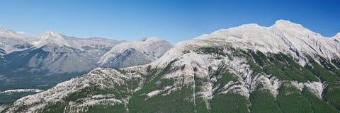 Panorama de Rundle da montagem Fotos de Stock Royalty Free