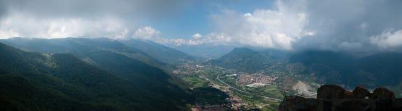 Panorama de Sacra Di San Micaela Fotos de archivo libres de regalías