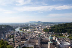 Panorama de Salzbourg Image libre de droits