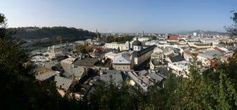 Panorama de Salzburg Fotografia de Stock Royalty Free
