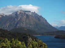Panorama de San Carlos de Bariloche Image stock