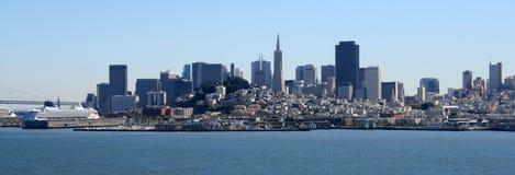 Panorama de San Francisco Photos libres de droits