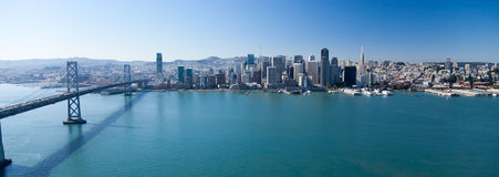 Panorama de San Francisco Photographie stock