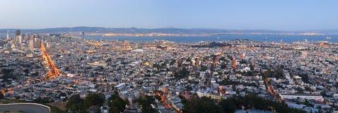 Panorama de San Francisco imagem de stock royalty free