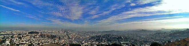 Panorama de San Francisco imagem de stock