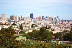 Panorama de San Francisco Foto de archivo