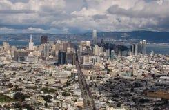 Panorama de San Francisco fotos de stock
