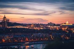 Panorama de San Pablo en los E.E.U.U. foto de archivo libre de regalías
