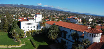 Panorama de Santa Barbara Foto de Stock Royalty Free