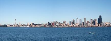 Panorama de Seattle Photo libre de droits