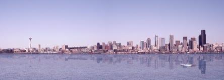 Panorama de Seattle Images libres de droits