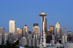 Panorama de Seattle image stock