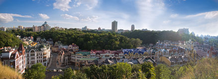 Panorama de secteur de Vozdvyzhensky Photo stock