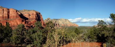 Panorama de Sedona Photo stock