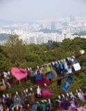 Panorama de Seoul imagem de stock royalty free