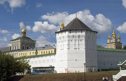 Panorama de Sergius Lavra de trinité Photo stock