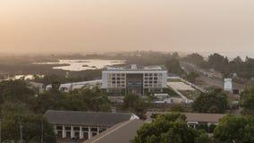 Panorama de Serrekunda Fotos de archivo