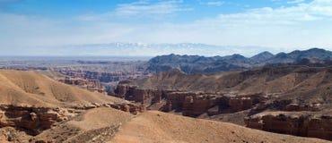 Panorama de Sharyn Canyon Fotos de archivo