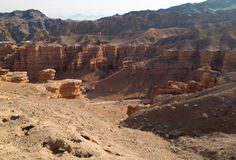 Panorama de Sharyn Canyon Photo libre de droits