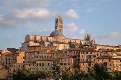 Panorama de Siena. Imagen de archivo libre de regalías