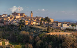 Panorama de Siena, Toscânia, Italy Fotos de Stock Royalty Free