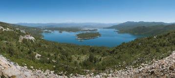 Panorama de Slansko Photos libres de droits