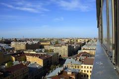 Panorama de St Petersburg Foto de archivo libre de regalías