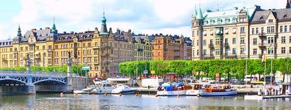 Panorama de Stockholm Photographie stock