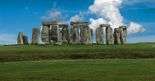 Panorama de Stonehenge photo libre de droits