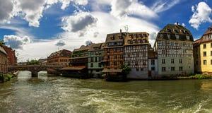 Panorama de Strasbourg Fotografia de Stock
