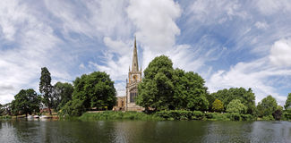Panorama de Stratford-sur-Avon images stock