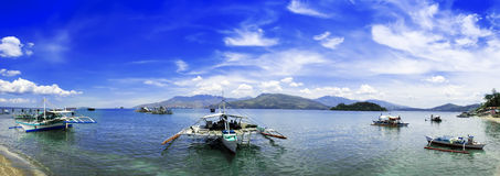 Panorama de Subic Bay. fotos de stock royalty free