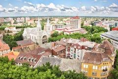 Panorama de Subotica Imagen de archivo
