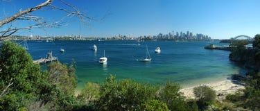 Panorama de Sydney fotografía de archivo