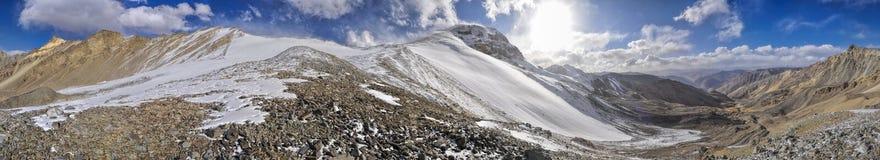 Panorama de Tajiquistão fotografia de stock