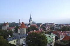 Panorama de Tallin Image stock