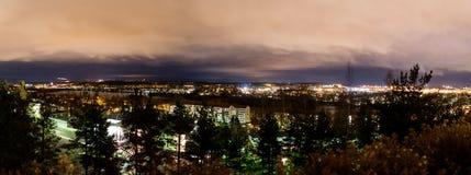 Panorama de Tampere do sul de Kalevankangas Imagem de Stock Royalty Free